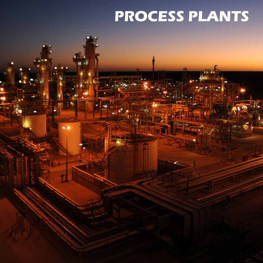 infrared testing process plants